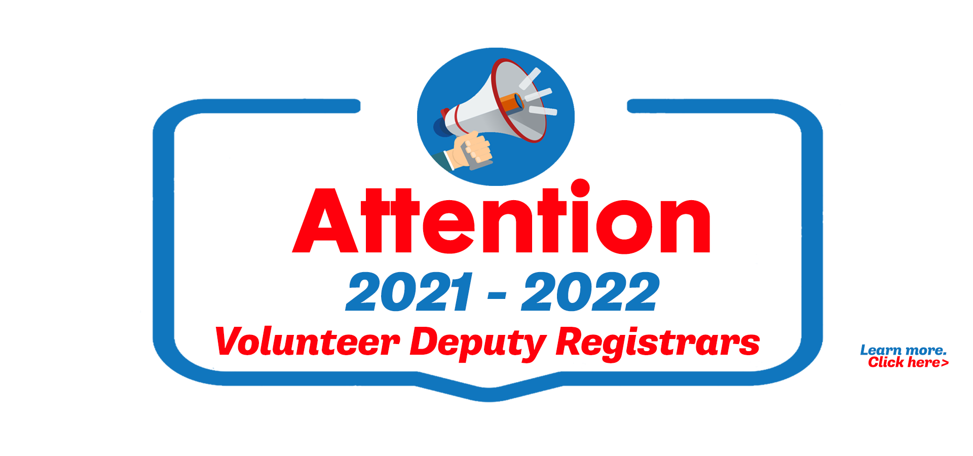 Volunteer Deputy Registrar